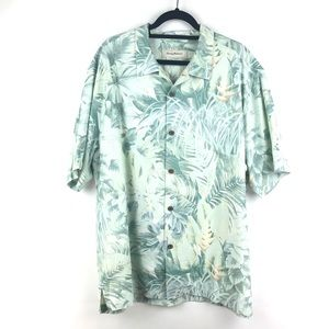 Tommy Bahama XL Button-Down Shirt XL Palm Print